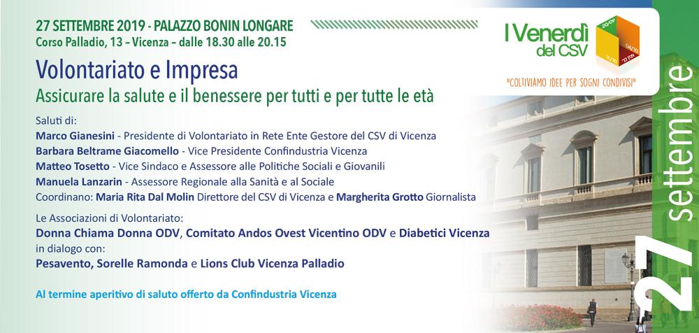 I Venerdi Del Csv Csv Vicenza